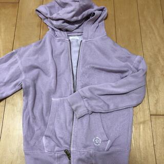 ネクスト(NEXT)のnext girls フード付きジップアップパーカー 薄紫色 128cm 8歳(その他)