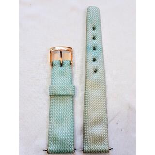 マルマン(Maruman)の商品NO.92♪ラグ幅18.5mm【新品・バネ棒付】マルマン♪薄い青色ナイロン(その他)