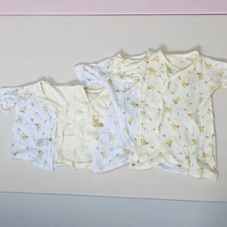 ディズニー(Disney)の新生児服 プーさん 4着セット(肌着/下着)