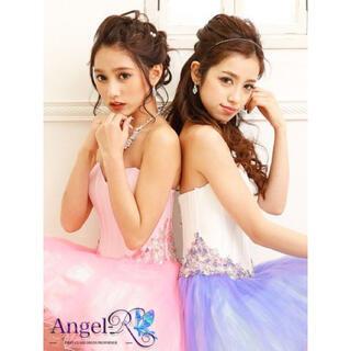 エンジェルアール(AngelR)のar2514/エンジェルアール/AngelR/ウエストビジューフレアミニドレス(ミニワンピース)