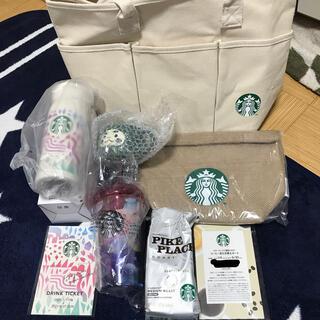 スターバックスコーヒー(Starbucks Coffee)のスターバックス 福袋 2021 全8点(フード/ドリンク券)