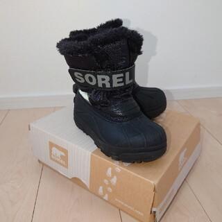 ソレル(SOREL)スノーブーツ 17cm キッズ スキー スノーボード 防寒