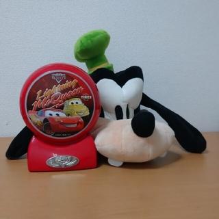 ディズニー(Disney)のグーフィーのキャップとカーズセット(キャラクターグッズ)