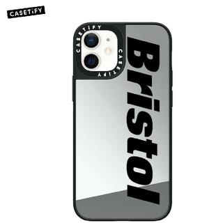 エフシーアールビー(F.C.R.B.)のF.C.Real Bristol SILVER 12 / 12 Pro ミラー(iPhoneケース)