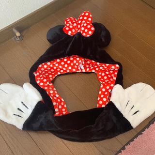 ミニーちゃん 手袋つき帽子♡(キャラクターグッズ)