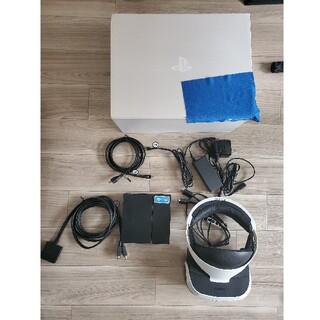 プレイステーションヴィーアール(PlayStation VR)のPlaystation VR CUH-ZVR1とシューティングコントローラー等(家庭用ゲーム機本体)