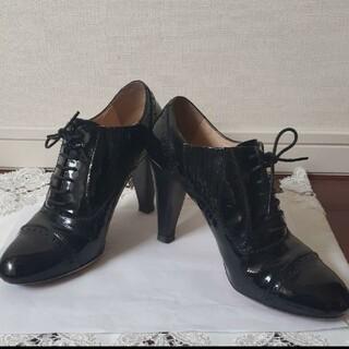カリアング(kariang)のカリアング KariAng ブーティ 23 1/2 レザー 黒 レディース 靴(ブーティ)