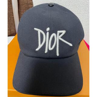 クリスチャンディオール(Christian Dior)のディオール×ショーン・ステューシー ロゴキャップ(キャップ)