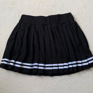 アベイル(Avail)のスカート 黒 白のライン入り ショート アベイル Lサイズ(ミニスカート)