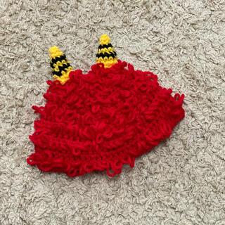 赤おにさん帽子❤️(帽子)