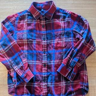 ユニクロ(UNIQLO)のネルシャツ(ブラウス)