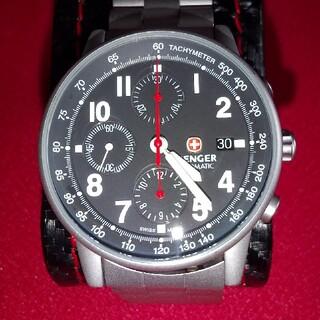 ウェンガー(Wenger)のミリタリークロノウォッチ(腕時計(アナログ))