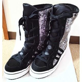 アディダス(adidas)のadidasブーツ 24.5cm(ブーツ)
