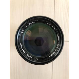 コニカミノルタ(KONICA MINOLTA)のMINOLTA MD TELE ROKKOR 135mm F2.8(レンズ(単焦点))