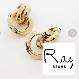 レイビームス(Ray BEAMS)のリングイヤリング(イヤリング)