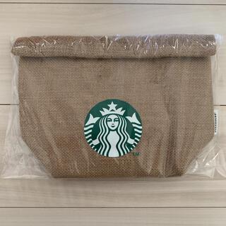 スターバックスコーヒー(Starbucks Coffee)のスターバックス 福袋 2021年 ジュートランチバッグ スタバ 新品 未開封(トートバッグ)