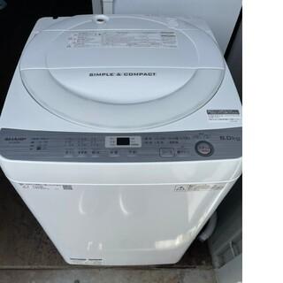 SHARP - SHARP 6キロ洗濯機  💍2018年製💍 ホワイト