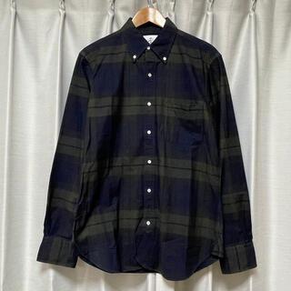 ブラックフリース(BLACK FLEECE)のBLACK FLEECE オックスフォードチェックシャツ(シャツ)