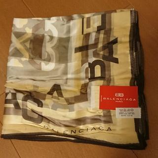 バレンシアガ(Balenciaga)の新品★バレンシアガ スカーフ シルク(バンダナ/スカーフ)