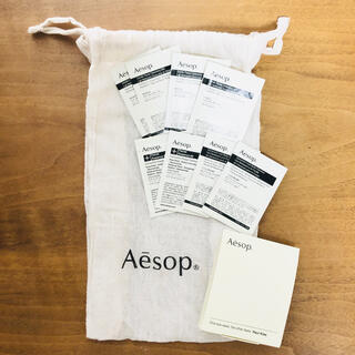 イソップ(Aesop)のAesop イソップ 巾着 サンプル クレンジング ボディクレンザー 美容液(サンプル/トライアルキット)