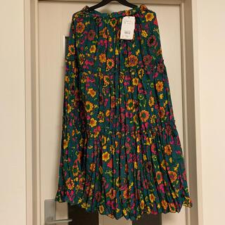 ロデオクラウンズ(RODEO CROWNS)のRODEO CROWNS 花柄 ロングスカート F(ロングスカート)