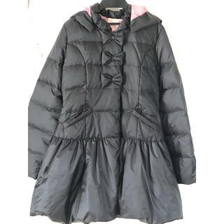 Shirley Temple - 新品 シャーリーテンプル ダウンコート 150 160 黒 ブラック