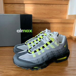 ナイキ(NIKE)の26.5cm NIKE AIR MAX 95 OG NEON YELLOW(スニーカー)