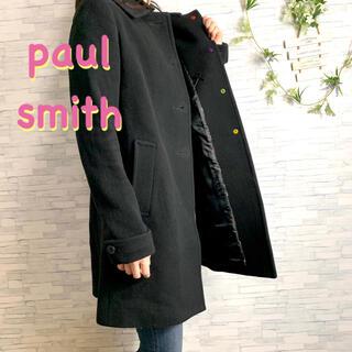 ポールスミス(Paul Smith)のpaul smith BLACK LABEL 花柄 ロングコート  No.669(ロングコート)