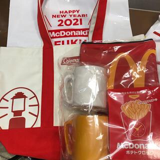 マクドナルド(マクドナルド)の新品✨マック 福袋♡Coleman✨2021 5点(フード/ドリンク券)