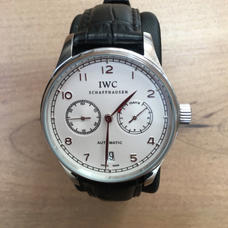 IWC - 【超激極美品】IWCポルトギーゼ裏スケ自動巻