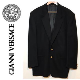 ジャンニヴェルサーチ(Gianni Versace)の【超美品】Versaceカシミア ジャケット(その他)