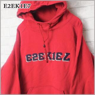 イズキール(EZEKIEL)の激レア!! vintage E2EK1EL イズキール ビンテージ パーカー(パーカー)