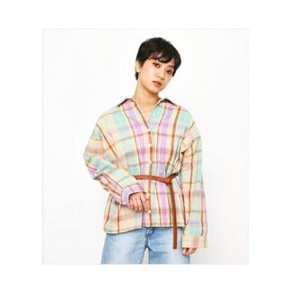ロデオクラウンズ(RODEO CROWNS)のチェックシャツ(シャツ/ブラウス(長袖/七分))