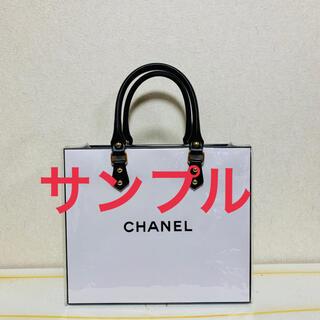 シャネル(CHANEL)の紙袋 エコバッグ クリアバッグ(エコバッグ)