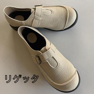 リゲッタ(Re:getA)のリゲッタ Re:getA  ベルト付 コンフォートシューズ 靴 M ローファ(その他)