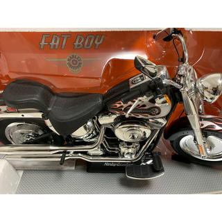 ハーレーダビッドソン(Harley Davidson)のハーレー ダビットソン ファットボーイ ラジコン 全長70cm(トイラジコン)
