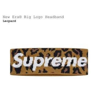 シュプリーム(Supreme)のSupreme New Era Big Logo Headband レオパード(その他)