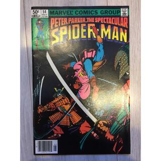 マーベル(MARVEL)のアメコミ スパイダーマン マーベル Spider-Man MARVEL 当時もの(アメコミ/海外作品)