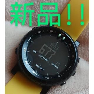 スント(SUUNTO)の★未使用! SUUNTO CORE YELLOW CRASH(腕時計(デジタル))