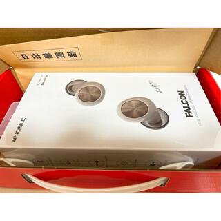 ノーブル(Noble)の新品未使用 FALCON (NOB-FALCON)、white(ヘッドフォン/イヤフォン)
