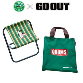 チャムス(CHUMS)のチャムス マウントレーニア CHUMS ミニチェア GO OUT アウトドア(テーブル/チェア)
