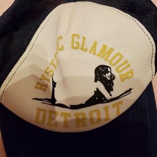 ヒステリックグラマー(HYSTERIC GLAMOUR)のヒステリックグラマー帽子(キャップ)