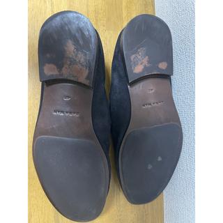 ザラ(ZARA)のZARA/ザラ レザー スリッポン/シューズ/靴/メンズ・27.5cm(スリッポン/モカシン)