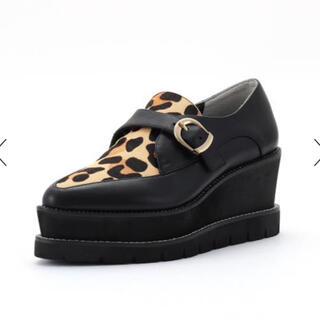 プールサイド(POOL SIDE)のプールサイド 厚底ローファー 試着のみ プラットフォーム(ローファー/革靴)