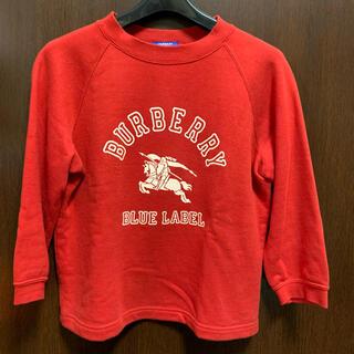 バーバリーブルーレーベル(BURBERRY BLUE LABEL)のバーバリー ブルーレーベル スウェット(トレーナー/スウェット)