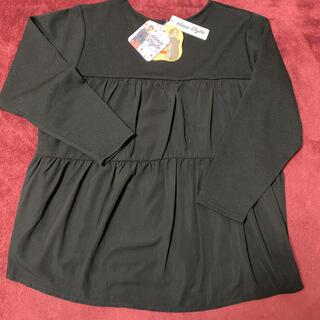 シマムラ(しまむら)のhina  style ウシロティアードPO  黒 3L(Tシャツ(長袖/七分))
