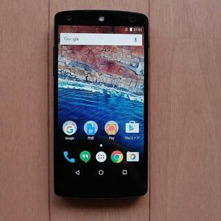 アンドロイド(ANDROID)の【美品】Nexus5 16GB White Ymobile SIMロック解除済 (スマートフォン本体)