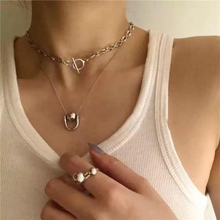 フリークスストア(FREAK'S STORE)のsilver925 one point ball necklace(ネックレス)