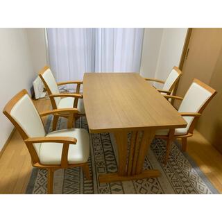 ニトリ(ニトリ)のダイニングテーブルセット(ダイニングテーブル)