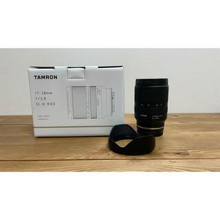 TAMRON - 17-28mm F/2.8 Di III RXD  TAMRON レンズ